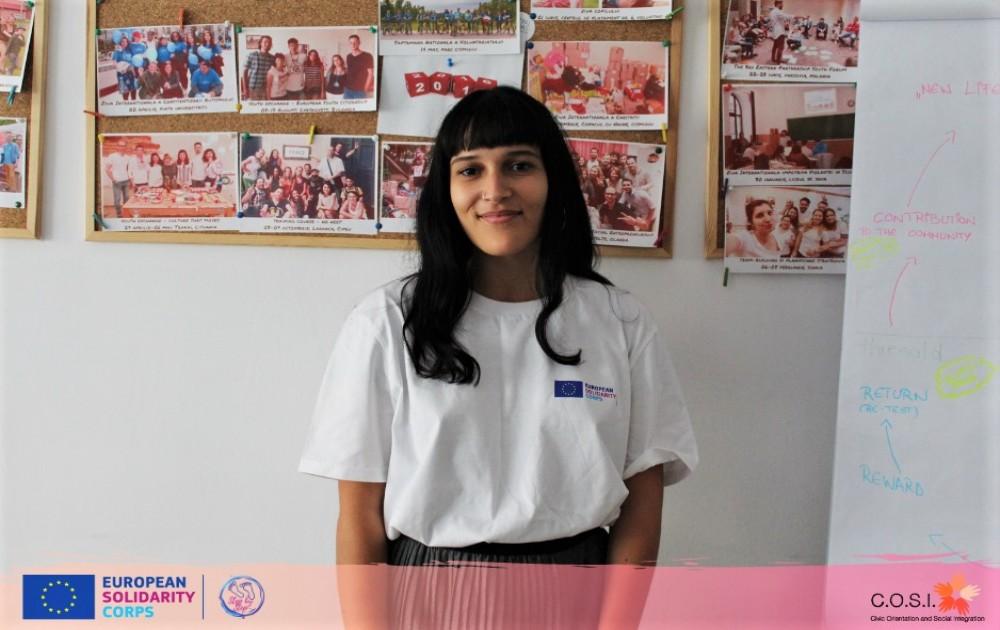 Voluntária do Geoclube na Roménia!