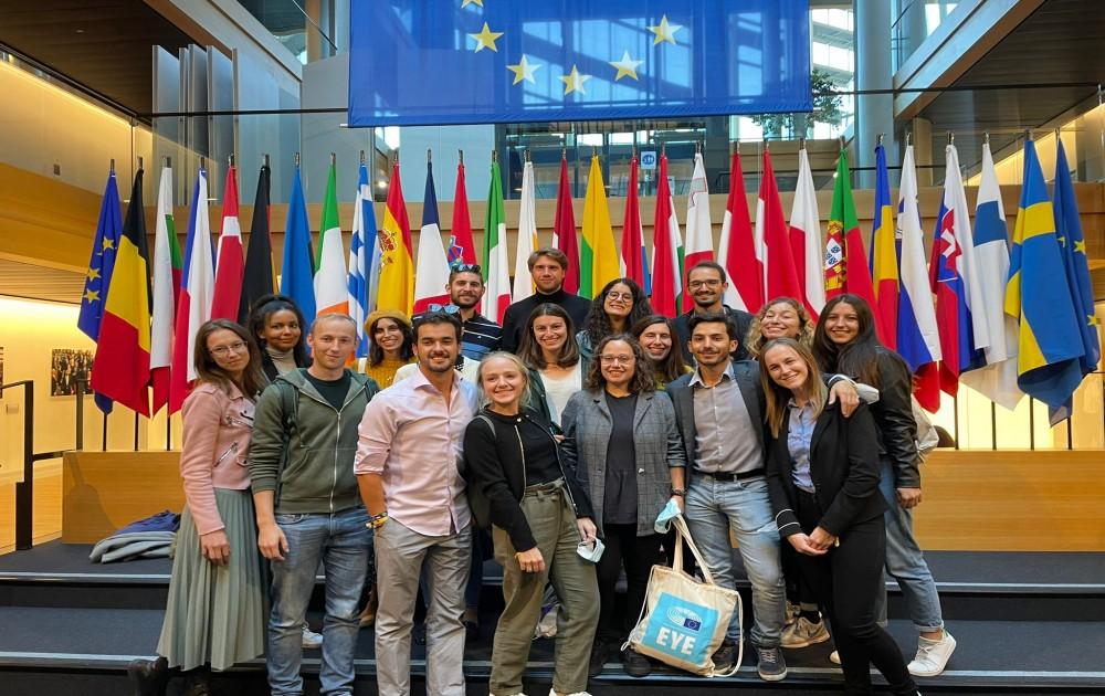 Evento Europeu da Juventude 2021: o Geoclube fez-se ouvir no Parlamento Europeu